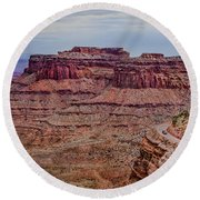 Utah Canyon Country Round Beach Towel