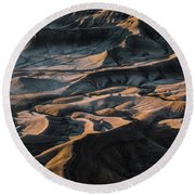 Utah Vista Round Beach Towel