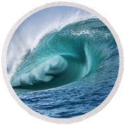Velocity Curl Round Beach Towel