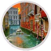 Venezia. Ca'gottardi Round Beach Towel