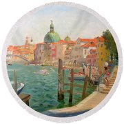Venice Santa Chiara Round Beach Towel