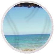 Venta A La Vida Round Beach Towel