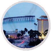 Ventura Evening Round Beach Towel