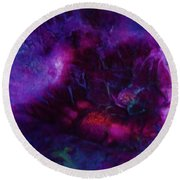 Venusian Sea Life Round Beach Towel