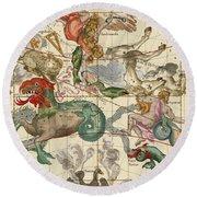 Vernal Equinox Round Beach Towel by Ignace-Gaston Pardies