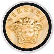 Versace Jewelry-1 Round Beach Towel