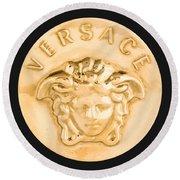 Versace Jewelry-1 Round Beach Towel