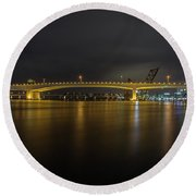 Viaduct Round Beach Towel