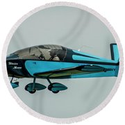 Vic Vicari Revised Round Beach Towel