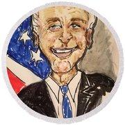 Vice President Joe Biden Round Beach Towel