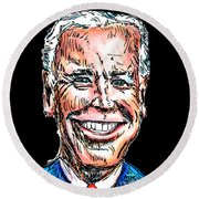 Vice President Joe Biden Round Beach Towel