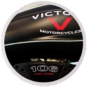 Victory 106 111116 Round Beach Towel