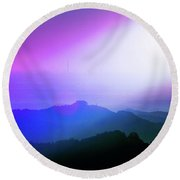 View Point Round Beach Towel