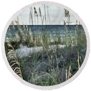 Viewpoint Mine Round Beach Towel