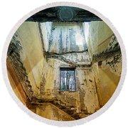 Villa Giallo Atmosfera Escher I - Escher Atmosphere I Round Beach Towel