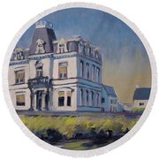 Villa Lhoest Round Beach Towel