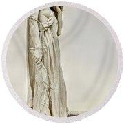 Vimy Memorial - Canada Bereft Round Beach Towel