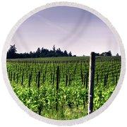 Vineyard 24077 Cr Round Beach Towel