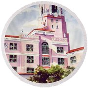 Vinoy, Renaissance Revisted Round Beach Towel