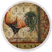 Vintage Le Coq-jp3092 Round Beach Towel