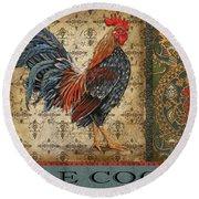 Vintage Le Coq-jp3095 Round Beach Towel