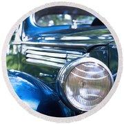 Vintage Packard Circa 1938 Round Beach Towel