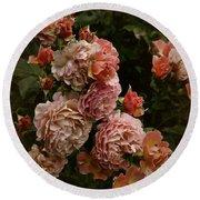 Vintage Roses, 6.17 Round Beach Towel
