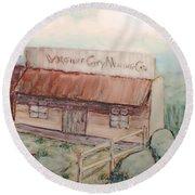 Virginia City Mining Co. Round Beach Towel