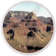 Vishnu Temple Grand Canyon National Park Round Beach Towel