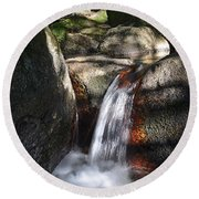 Vitosha Mountain Waterfalls - Bulgaria Round Beach Towel