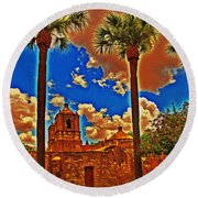 Viva Concepcion Round Beach Towel