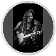 Vivian Campbell - Campbell Tough3 Round Beach Towel by Luisa Gatti