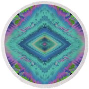 Round Beach Towel featuring the photograph Exponential Flare 2 by Colleen Taylor
