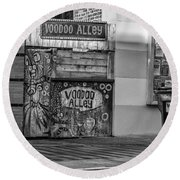 Voodoo Alley Round Beach Towel