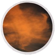 Round Beach Towel featuring the photograph Vortex by John Glass