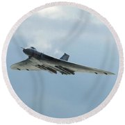 Vulcan Round Beach Towel