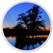 Wagardu Lake, Yanchep National Park Round Beach Towel