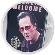Walkens Welcome Round Beach Towel
