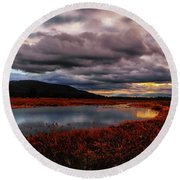 Wallkill River National Wildlife Refuge Round Beach Towel