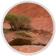 Round Beach Towel featuring the photograph Walpa Gorge 01 by Werner Padarin