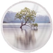 Wanaka Tree Round Beach Towel