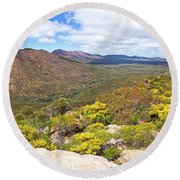 Wangara Hill Flinders Ranges South Australia Round Beach Towel