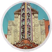 Warner Theatre, Erie, Pa Round Beach Towel