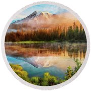 Washington, Mt Rainier National Park - 04 Round Beach Towel
