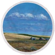 Washington Wheatland Classic Round Beach Towel