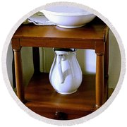 Washstand Round Beach Towel