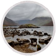 Wastwater Lake District Round Beach Towel