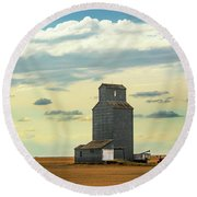 Watching O'er The Plains Round Beach Towel