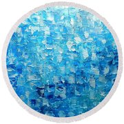 Water And Light 2016 Round Beach Towel