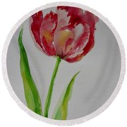 Watercolor Series No.  228 Round Beach Towel